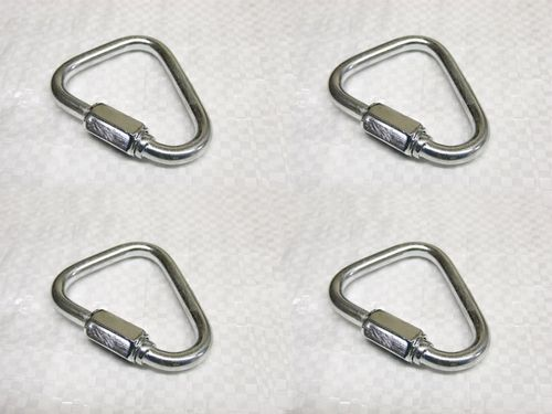 Zinc Plated Delta Shape Quick Links